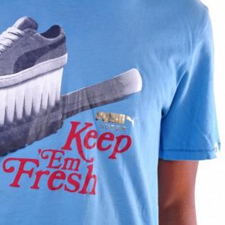 Puma Edition Graphic Tee T Shirt cendre blue 55580405