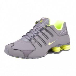 Nike Shox Grau Neon Gelb