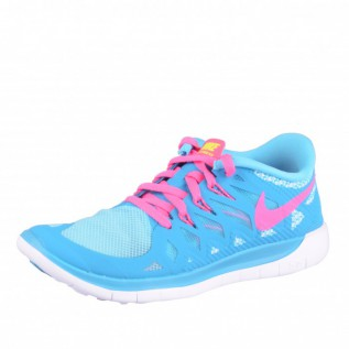 nike free 5 0 damenschuhe blau pink wei runner laufschuhe. Black Bedroom Furniture Sets. Home Design Ideas