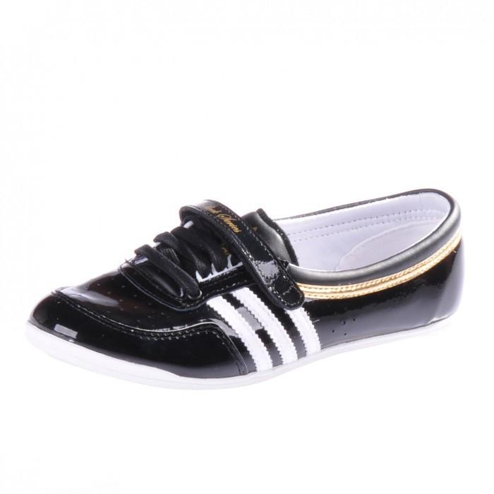 Adidas Ballerinas Schwarz Gold