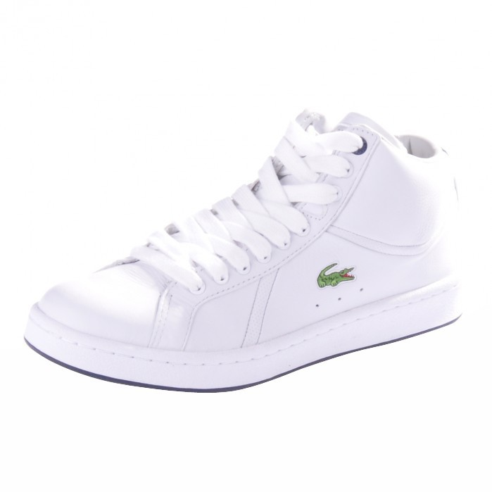 lacoste bryont mid spm schuhe sneaker white wei ebay. Black Bedroom Furniture Sets. Home Design Ideas