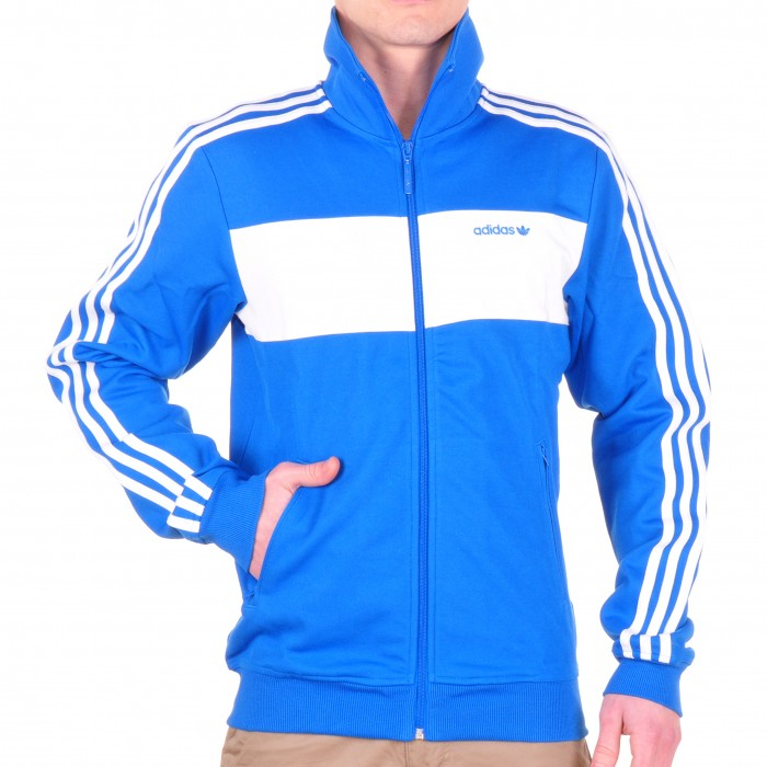 adidas trainingsjacke blau