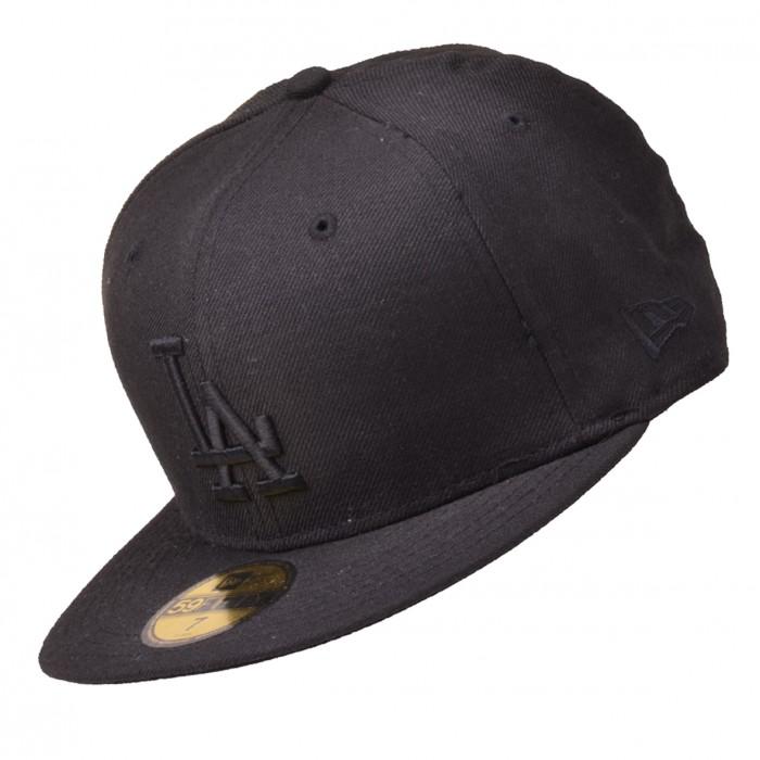 new era cap mlb basic la dodgers 59fifty basecap black on. Black Bedroom Furniture Sets. Home Design Ideas