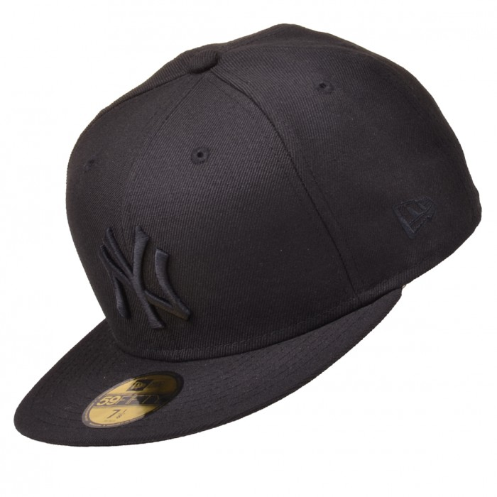 new era cap mlb basic ny yankees 59fifty pitcher basecap. Black Bedroom Furniture Sets. Home Design Ideas