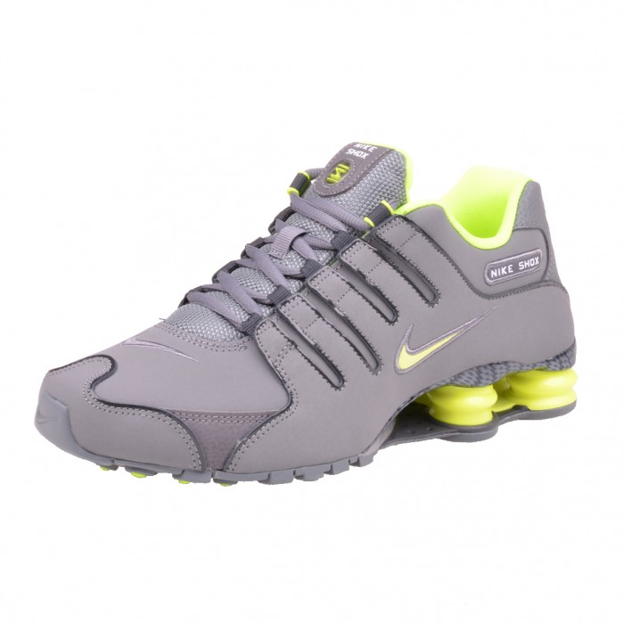 Nike Shox Nz Grey Volt