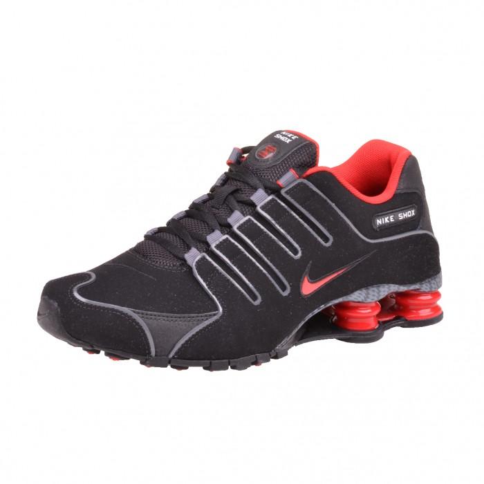 Nike Shox NZ Rot Schwarz