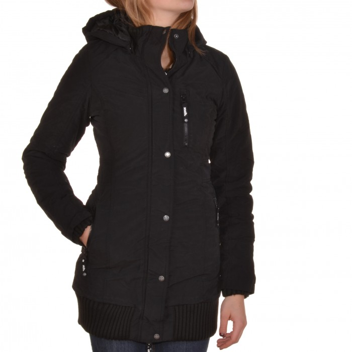 bench razzer c jacke jacket schwarz black winterjacke fell blka1618 ebay. Black Bedroom Furniture Sets. Home Design Ideas