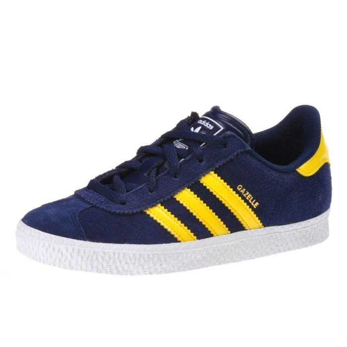 Gelb Blau Kinderschuhe J Kids Schuhe G51594 Adidas Sneaker 2 Gazelle wqCT8
