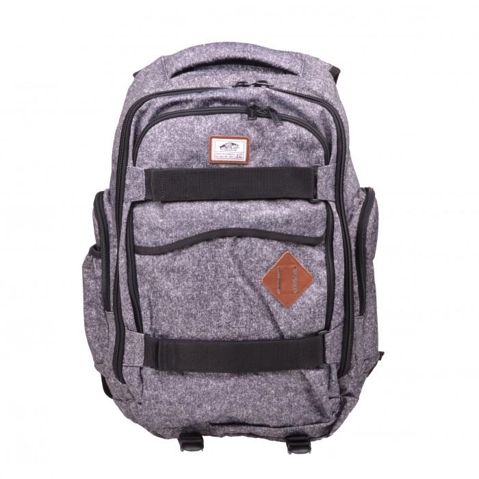 vans intenzionali skate backpack zaino grigio nero vn 0. Black Bedroom Furniture Sets. Home Design Ideas