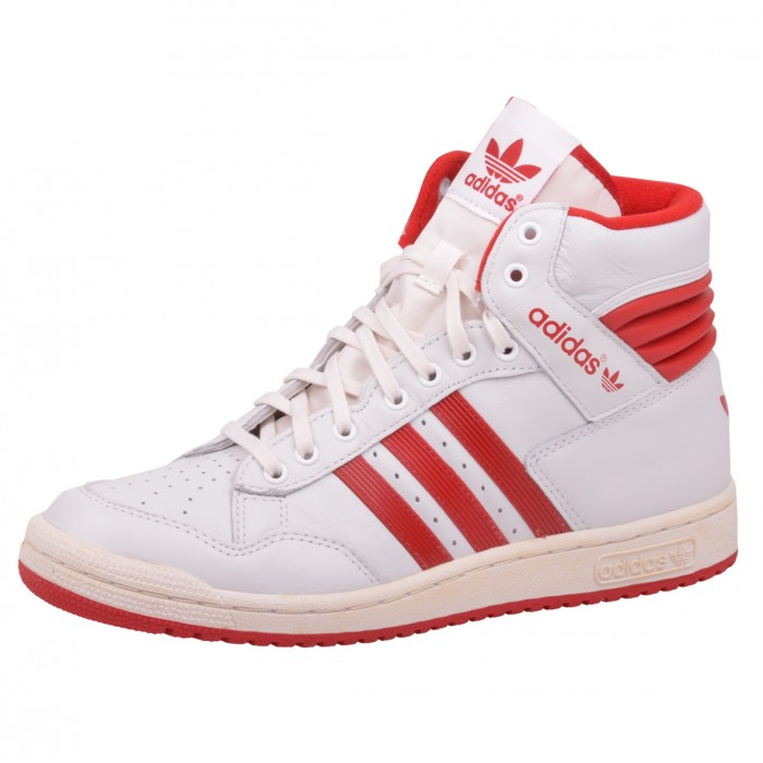 adidas pro conference hi schuhe schuh sneaker wei rot. Black Bedroom Furniture Sets. Home Design Ideas