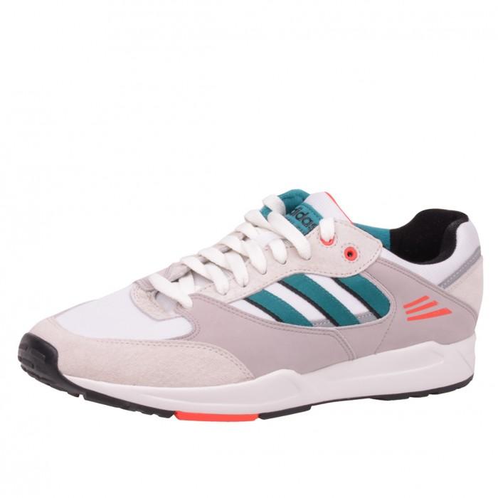 Adidas Tech Super Schuhe Weiß Grau Grün