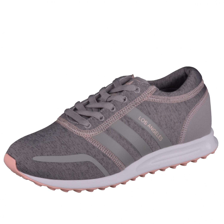 los angeles 08e48 4203b Adidas Pink Los Femmes Chaussures Sneaker W Gris Angeles BqB