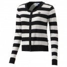 adidas Striped Graphic Cardigan