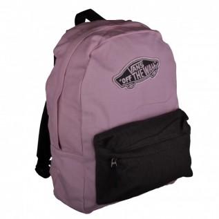 vans realm pink grau backpack rucksack tasche. Black Bedroom Furniture Sets. Home Design Ideas